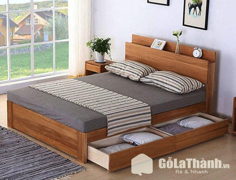 giường ngủ có tủ kéo dưới gầm