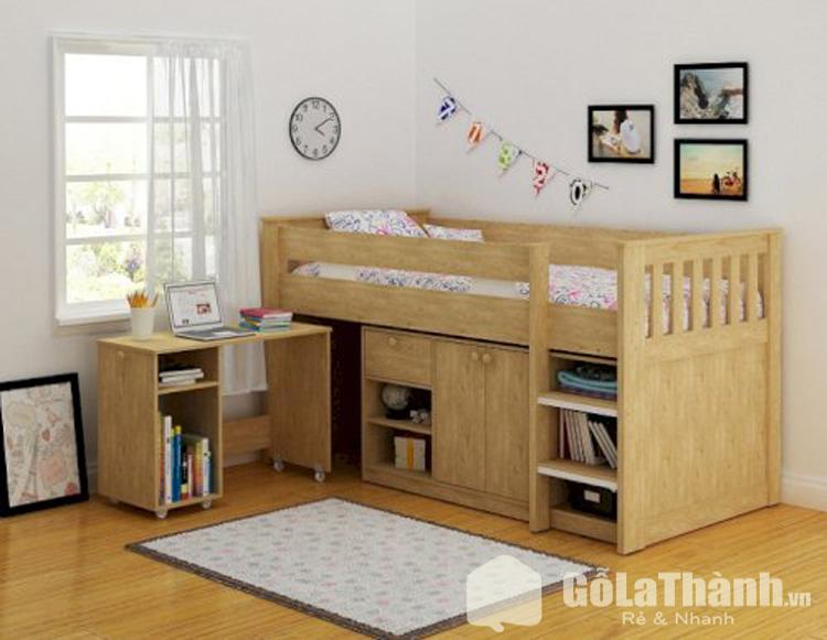 thiết kế tầng với tầng 1 là tủ chứa đồ