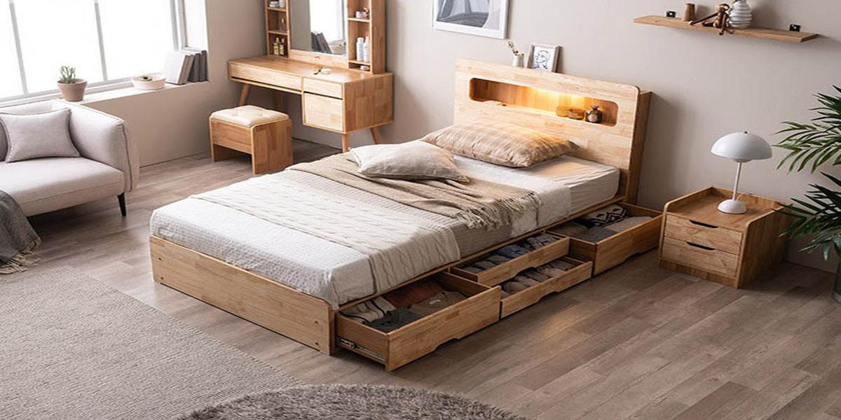 Giường đơn 1m2 và những ưu điểm bạn nên biết