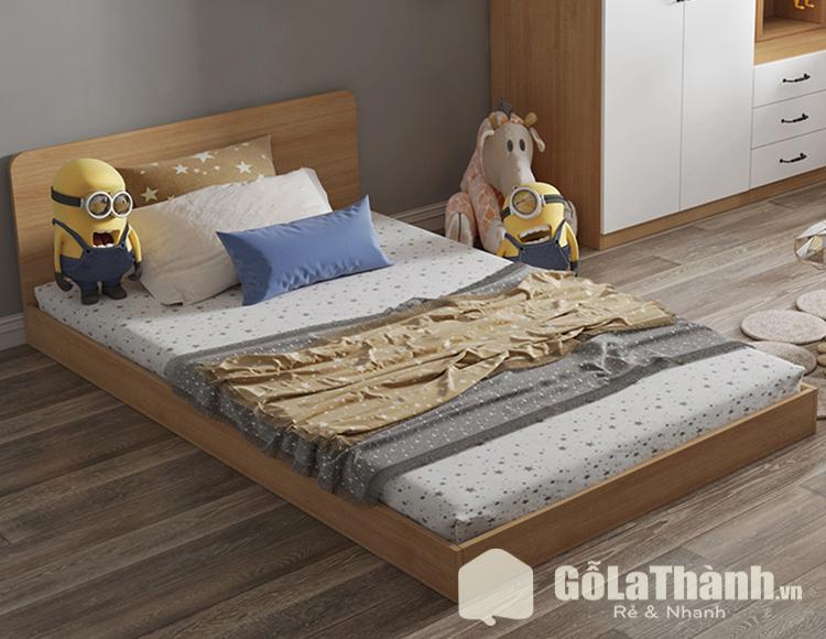 giường ngủ 1m2 khối hộp, thấp và dành cho trẻ em