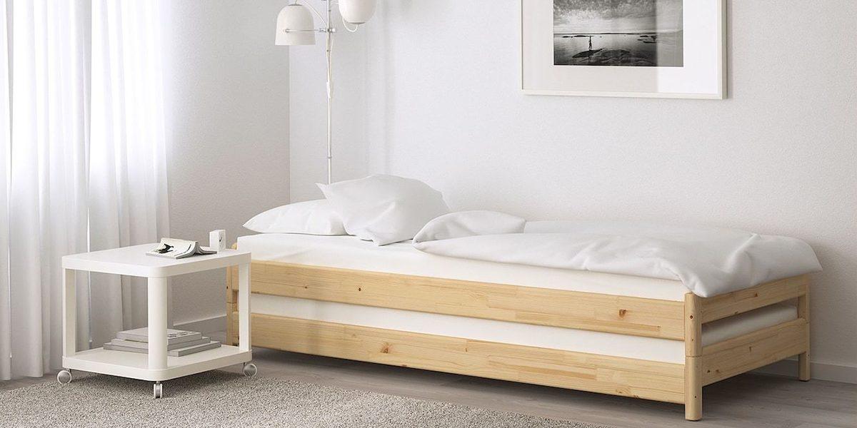Cùng ngắm 5 mẫu giường đơn giá rẻ nhỏ xinh cho phòng ngủ