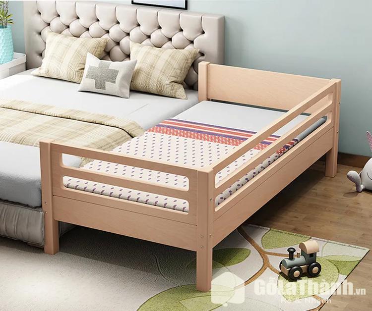 giường ghép cho bé với bố mẹ