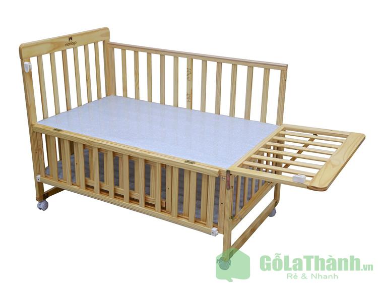 giường ngủ ghép cho bé với bố mẹ thiết kế tháo lắp dễ dàng