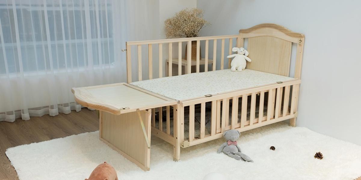 gường ghép cho bé với bố mẹ