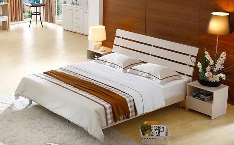 giường gỗ công nghiệp gia rẻ