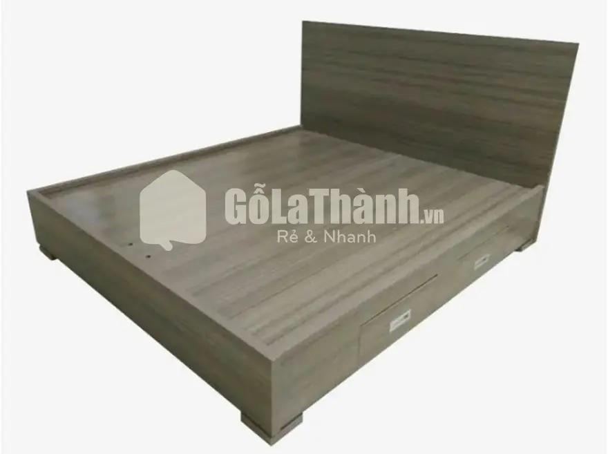 giường gỗ đơn giản giá rẻ