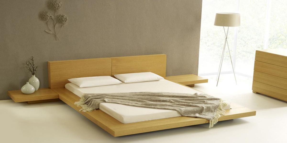 Kiểu giường gỗ thấp được giới trẻ yêu thích nhất hiện nay
