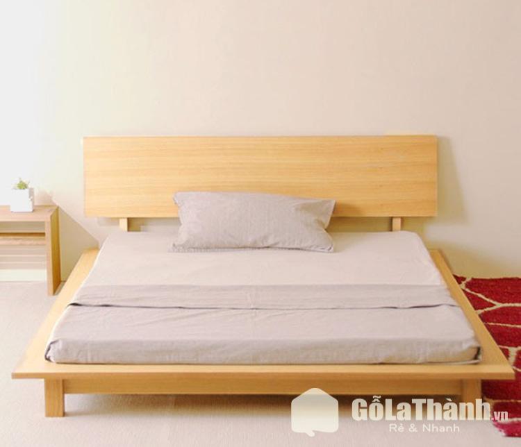 giường gỗ thấp dạng phản