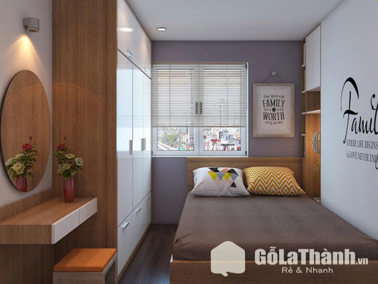 thiết kế phòng ngủ nhỏ hiện đại