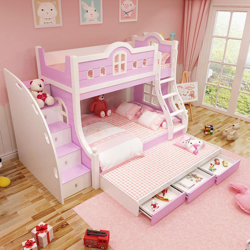giường ngủ đẹp cho bé gái