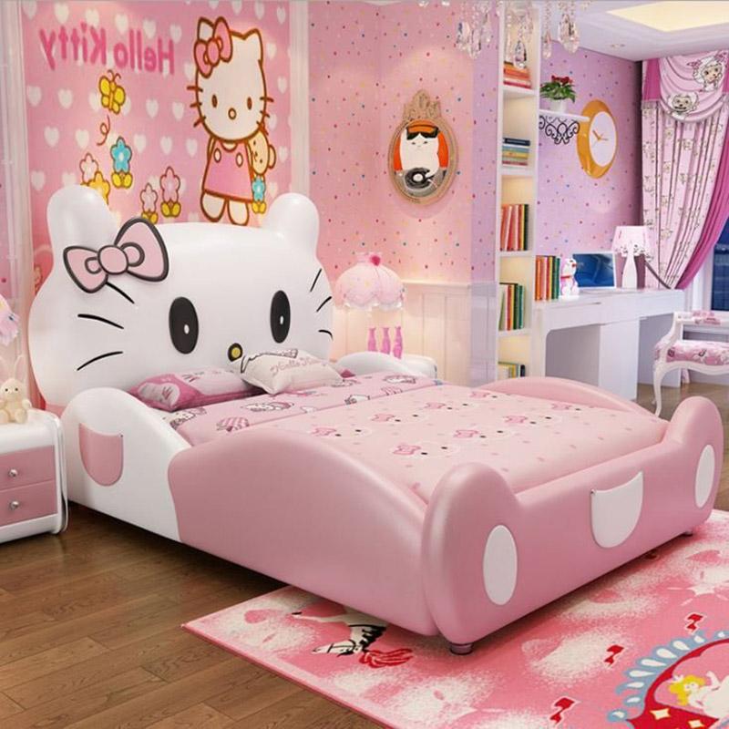 giường ngủ cho bé gái đẹp