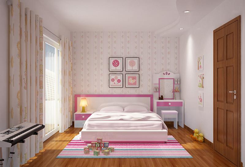Kinh nghiệm chọn giường ngủ cho bé gái bố mẹ đã biết chưa?