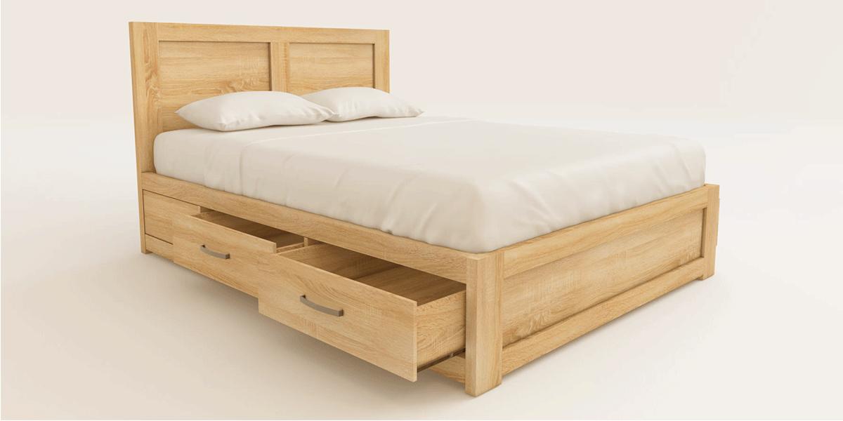 Giường ngủ có ngăn kéo giá rẻ và những ưu nhược điểm nên biết