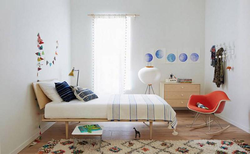 Giường ngủ giá rẻ đơn giản đẹp