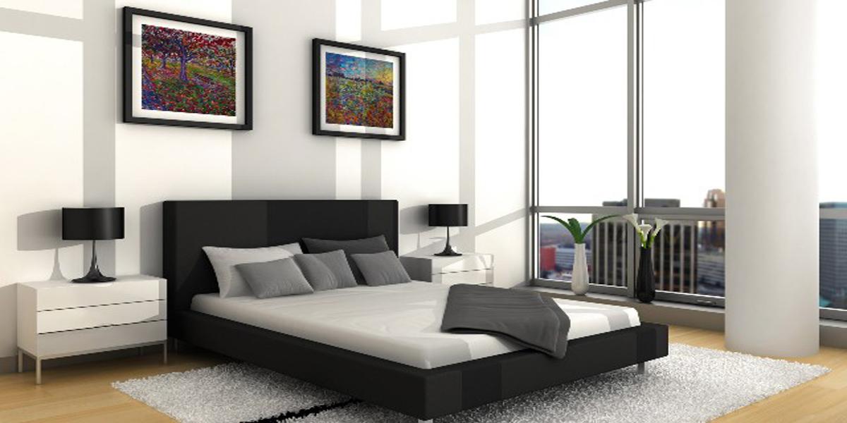 Giường ngủ màu đen và những ý tưởng trang trí phòng ngủ