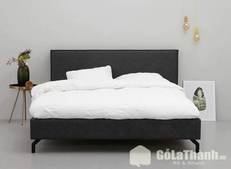 giường ngủ màu đen