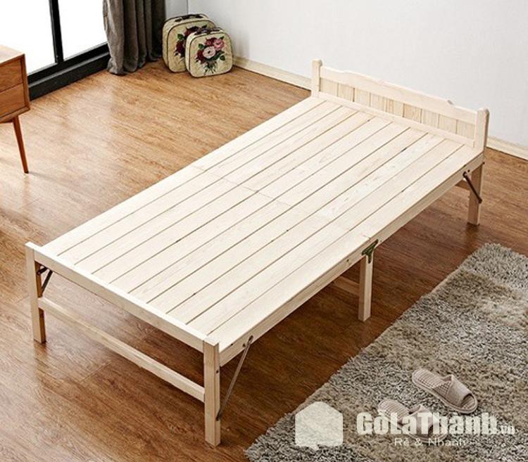 giường gỗ kích thước cho một người