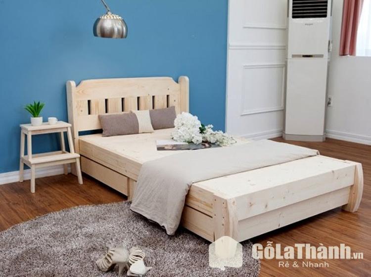 giường ngủ nhỏ gọn thiết kế đơn giản