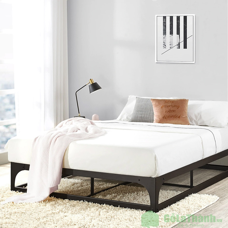 giường ngủ thấp giá rẻ