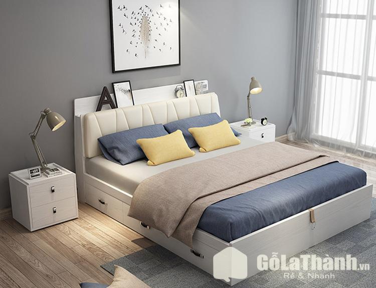 giường ngủ thấp sàn