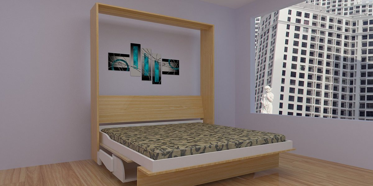 4 mẫu giường ngủ thông minh giá rẻ mua ngay kẻo tiếc