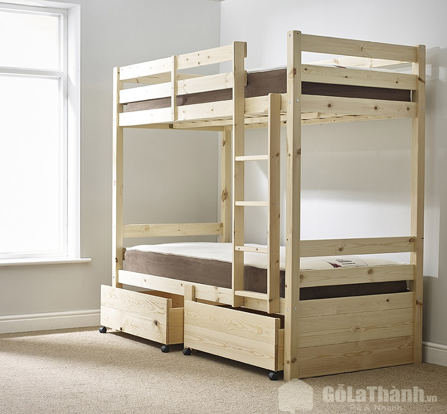 giường tầng gỗ giá rẻ