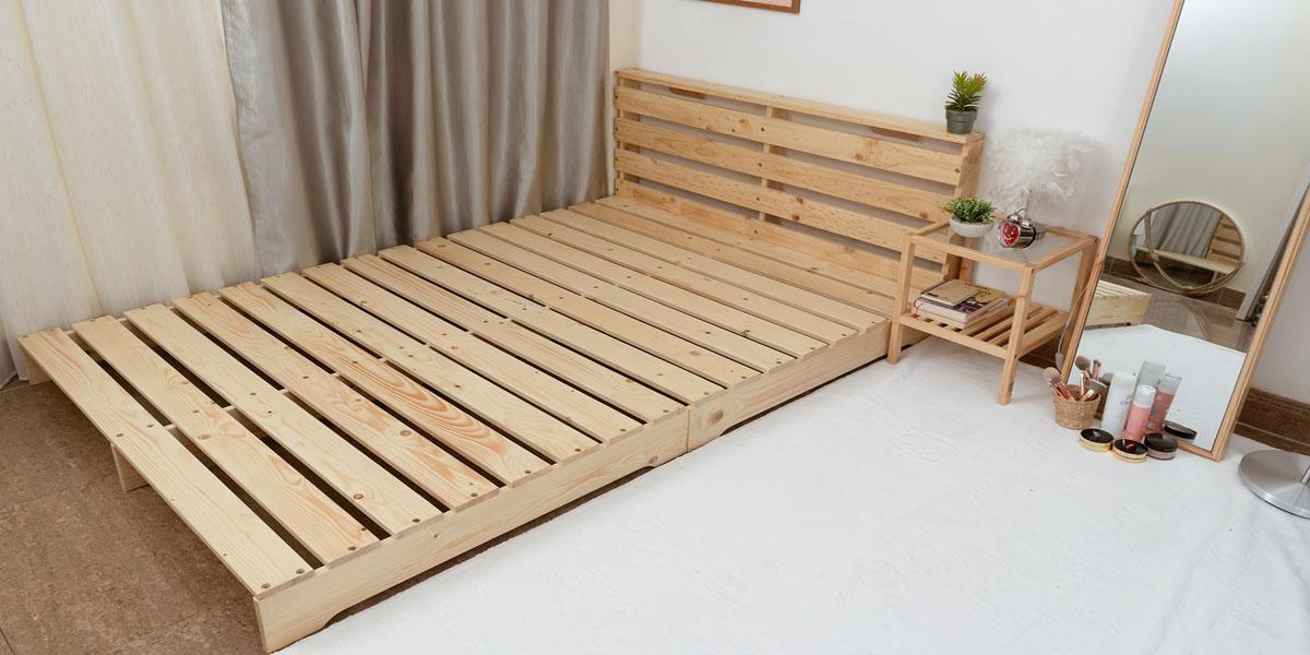 Giường tự lắp ráp – một trong những thiết kế giường ngủ độc đáo