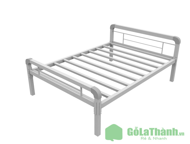 giường tự lắp ráp bằng sắt