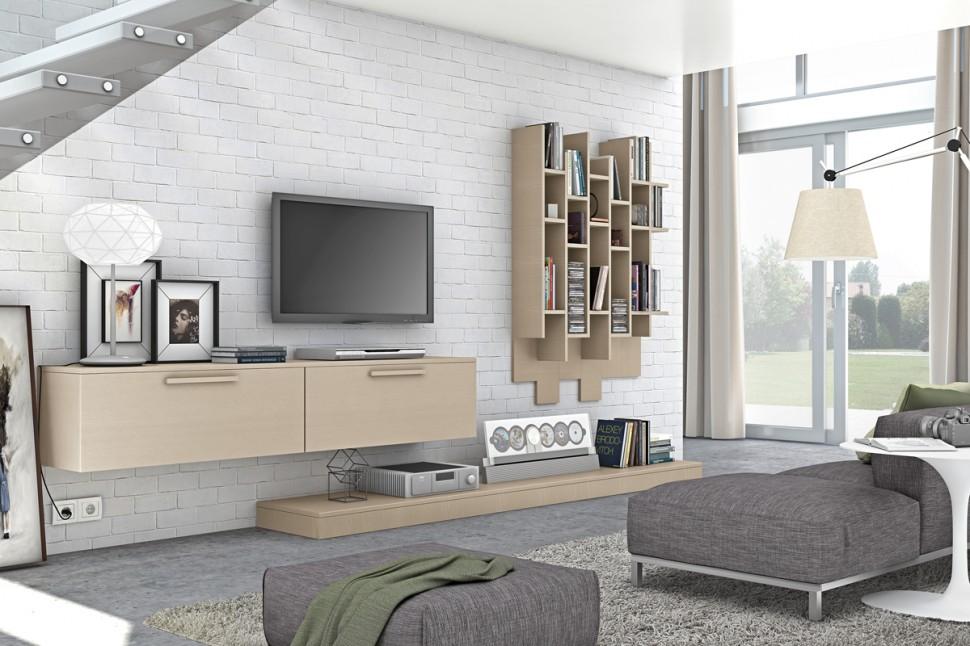 Những ưu điểm khi sử dụng kệ tivi gỗ thông cho phòng khách