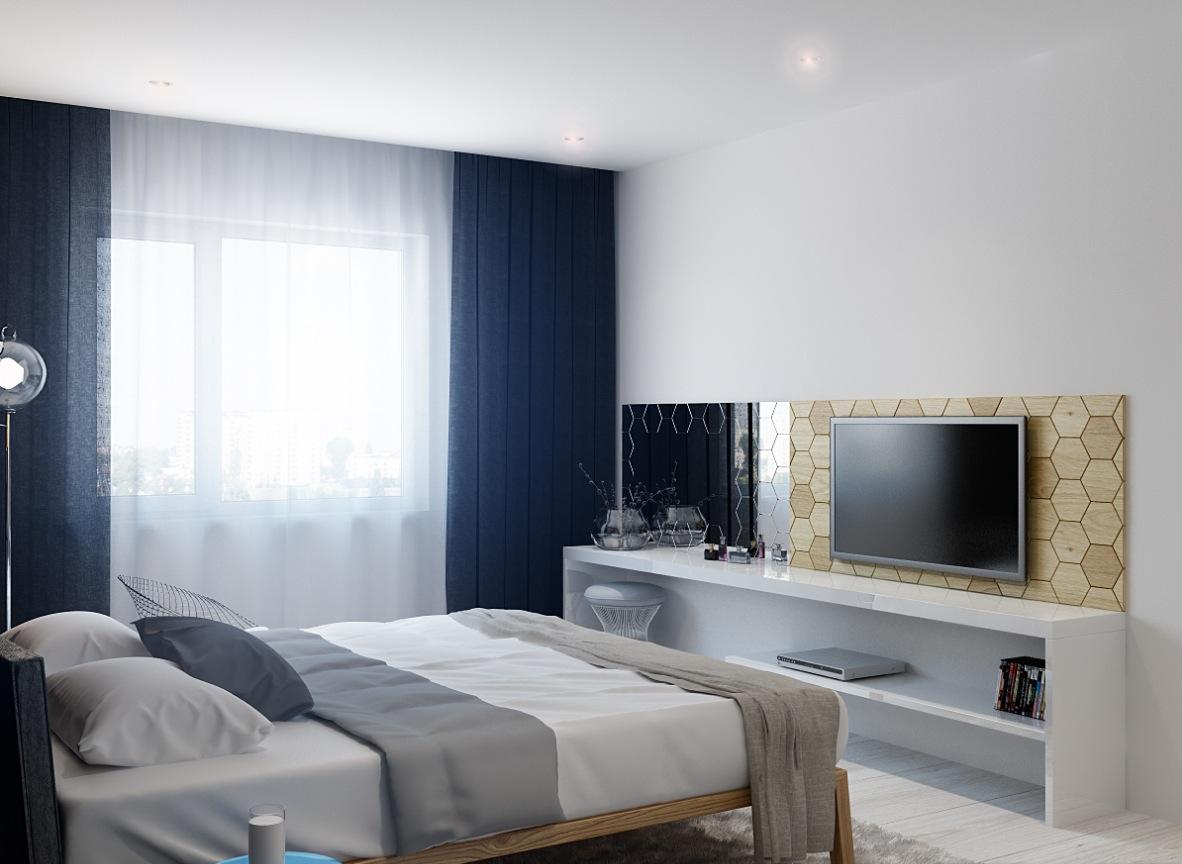 Cách lựa chọn kệ tivi gỗ trong phòng ngủ phù hợp với gia đình