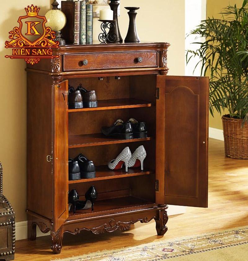 Mẫu tủ giày đẹp hiện đại