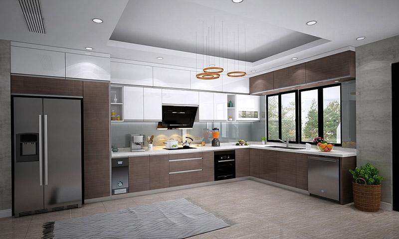 phong thủy phòng bếp đẹp