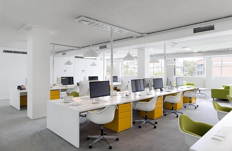 Thiết kế văn phòng tập thể lý tưởng